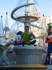 Peter Pan and Tinkerbell (in the lantern)